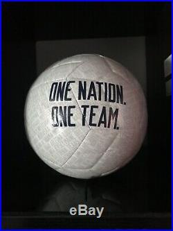 Megan Rapinoe Autographed Soccer Ball