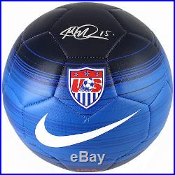 Megan Rapinoe Signed Autographed Nike Blue Soccer Ball TRISTAR COA