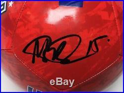 Megan Rapinoe Signed Womens Team USA Soccer Ball PSA AF81245