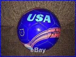 Meghan Klingenberg Signed Team USA Us Soccer Logo Soccer Ball Coa 2015 World Cup