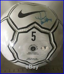 Mia Hamm Autographed Nike Soccer Ball Steiner COA