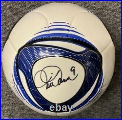 Mia Hamm Autographed Signed Adidas Soccer Ball Size 3 JSA Authenticated USA