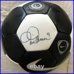 Mia Hamm autographed signed autograph auto Nike Tiempo size 5 soccer ball USWNT