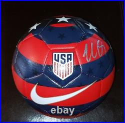 Michael Bradley'toronto Fc' USA National Team Captain Signed Ball Coa Proof