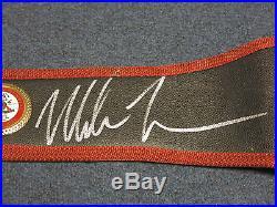Mike Tyson Signed Full Size WBA Championship Boxing Belt AUTO PSA/DNA COA HOF
