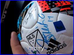 Mini Real Madrid Soccer Football Signed Autographs Marcelo Nacho Benzema Isco