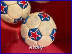 Minnesota Kicks Team Autographed Soccer Balls