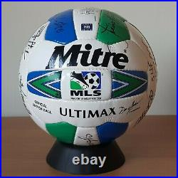 Mitre Ultimax MLS Signed Official Match Ball 1999/2000