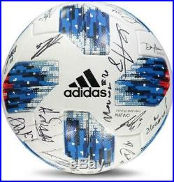 Montreal Impact Signed MU Soccer Ball from the 2018 MLS Season & 24 Signatures
