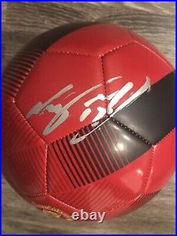 NANI Signed Manchester Autograph United Soccer Ball Orlando City Premier League