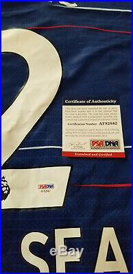 NEW Christian Pulisic Signed Autographed Team USA Chelsea Soccer Jersey Psa/Dna