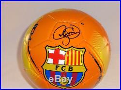 Neymar Fc Barcelona Signed Soccer Ball Psa Dna Brazil 2016 Olympics