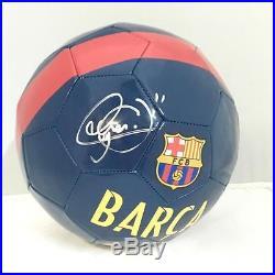 Neymar Signed Nike Soccer Ball Barcelona Psa/dna Itp 7a79174