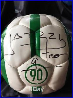 NIKE TEAM SIGNED MEXICO NATIONAL TEAM SOCCER BALL FUTBOL SANCHEZ & more