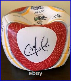NY Red Bulls Signed Ball by 2011 Squad. 20 players, Thierry Henry, R. Marquez