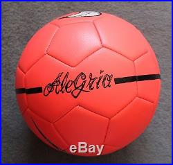 Neymar Autographed Signed Soccer Ball FC Barcelona Brazil Messi PSA/DNA COA