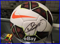 Neymar Da Silva-santos Jr. Barcelona Signed Nike Soccer Ball Jsa