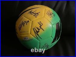 Nike NWSL Portland Thorns Team Signed Soccer Ball Autograph Alex Morgan Sinclair