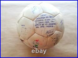 Nike liga Official Match Ball 1996 97 Signed R Madrid campeón liga 7 copa europa