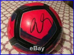 Nike signed auto USMNT Copa America Centenario USA 2016 Soccer Ball Pulisic +7
