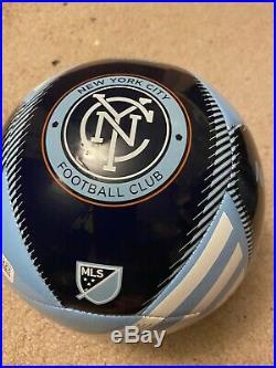 Nycfc MLS Pirlo, Villa, Lampard Signed Ball
