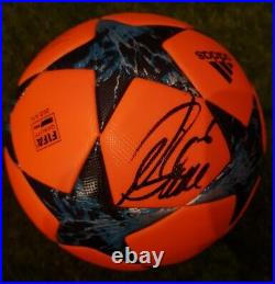 OMB SIGNED Atletico de Madrid shirt match worn Official match ball player issue