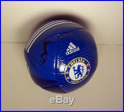 Oscar Brazil Chelsea Signed Autograph Soccer Ball Futbol Coa