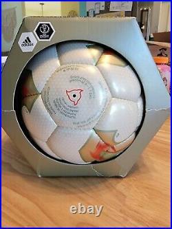 Official Match Ball 2002 World Cup Adidas Fevernova Autographed by Anastacia