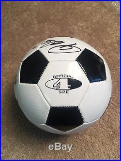 PELE AUTOGRAPHED SIGNED SOCCER BALL GA COA