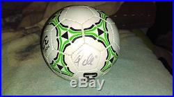 PELE autographed Soccer ball