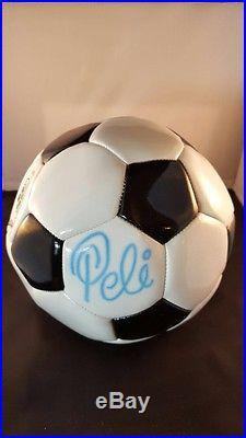 Psa/dna Pele Autographed Mint Wilson Full Size 5 Soccer Ball