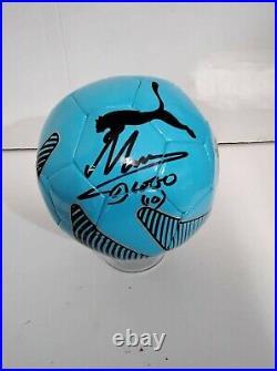 Pallone Autografato Diego Armando Maradona Signed Diego Autrograph Hand Signed