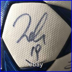 Pallone Finale Champions League 2010/2011 Ac Milan Signed Autografato Match Worn