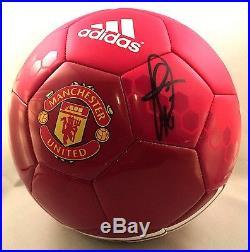 Paul Pogba Signed Manchester United Soccer Ball Futbol France Juventud COA