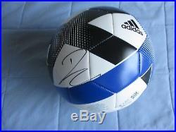 Paulo Dybala Signed Adidas Soccer Ball Dc/coa (exact Proof) Argentina Football