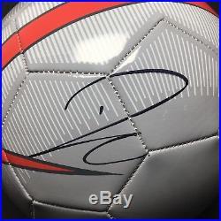 Paulo Dybala Signed Nike Soccer Ball Juventus PSA AE46686
