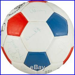 Pele 1977 New York Cosmos NASL Champs Team Signed Official Soccer Ball JSA COA