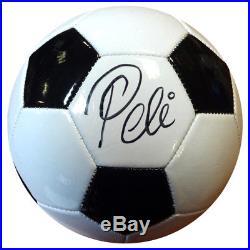 Pele Authentic Autographed Signed Franklin Soccer Ball Brazil Psa/dna 101424