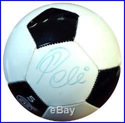 Pele Authentic Autographed Signed Wilson Soccer Ball Brazil JSA