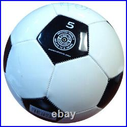 Pele Authentic Autographed Signed Wilson Soccer Ball Brazil JSA COA X12376