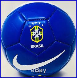 a3548bd3bfb4 Pele Autograhped Nike Brazil Soccer Ball Signed PSA DNA ITP