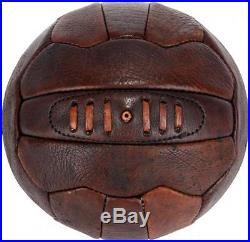 Pele Autographed Leather Vintage Soccer Ball Fanatics Authentic Certified