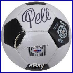 2764abe9c5d3 Pele Autographed Signed Franklin Soccer Ball Brazil (Damaged) PSA/DNA  #AA39639