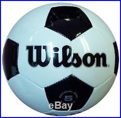 Pele Autographed Signed Wilson Soccer Ball Brazil PSA/DNA #AB51455