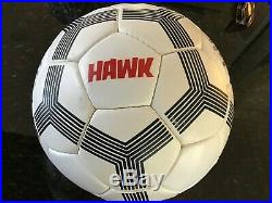 Pele Autographed Soccer Ball By Hawk In Perfect Condition