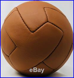 Pele Autographed Vintage Soccer Ball Brazil Signed PSA/DNA ITP COA