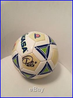 Pele Brazil Authentic Signed Autographed Soccer Ball World Cup Glow In The Dark