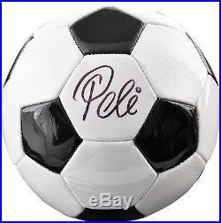 Pele Brazil Autographed Baden Soccer Ball Fanatics Authentic Certified