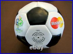 Pele Brazilian Brazil Cosmos Hof Signed Auto 2006 Fica World Cup Soccer Ball MC