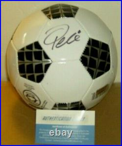 Pele Signed Autographed Soccer Ball Certified WithCOA